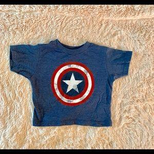 12M Captain America tee
